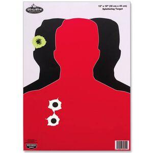"Birchwood Casey Silhouette III Target 12""x18"" 8 Pack"