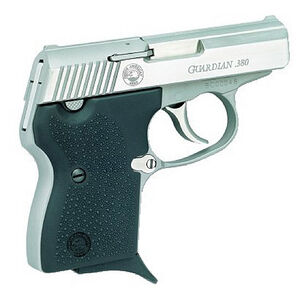 "North American Arms Guardian Semi Auto Handgun .380 ACP 2.49"" Barrel 6 Rounds Black Grips Stainless Finish NAA-380 GUARDIAN"