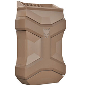 Pitbull Tactical Universal Mag Carrier Gen 2 Single Magazine Pouch Fits 9/40/45 Single or Double Stack Magazines FDE