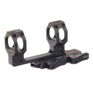 "American Defense Recon H 34mm Dual Ring High Scope Mount With 2"" Offset Black AD-RECON-H-34-STD-TL"