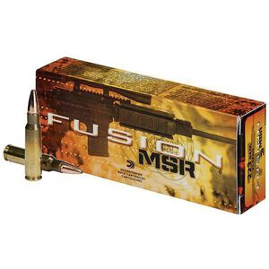 Federal Fusion MSR .223 Rem 62 Grain Fusion Soft Point 20 Round Box
