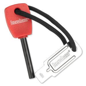 "Kershaw Firestarter 3"" Magnesium Firesteel with Chrome Plated Steel Striker 1019"