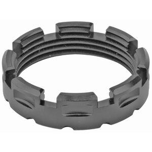 Fortis Manufacturing Standard AR Castle Nut Billet Aluminum Black
