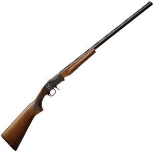 "TR Imports Stalker Single Shot Youth Break Action Shotgun 20 Gauge 26"" Barrel 3"" Chamber 1 Round FO Front Sight Walnut Stock Blued"