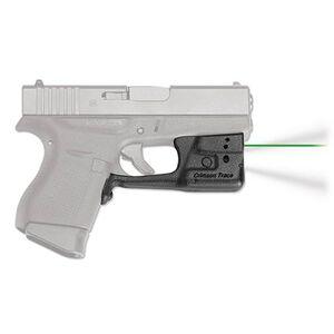 Crimson Trace LaserGuard Pro Light/Laser Combo GLOCK 42/43 150 Lumen LED White Light/5mW Green Laser Polymer Housing Matte Black