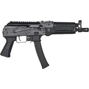 "Kalashnikov USA KP-9 9mm Luger AK Style Semi Auto Pistol 9.25"" Threaded Barrel 30 Rounds Polymer Handguard Matte Black Finish"