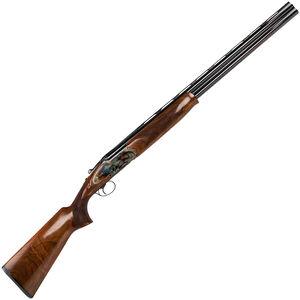 """Dickinson Plantation 12 Gauge O/U Break Action Shotgun 28"""" Double Barrels 3"""" Chambers 2 Rounds Bead Sight Walnut Stock Case Hardened/Blued Finish"""
