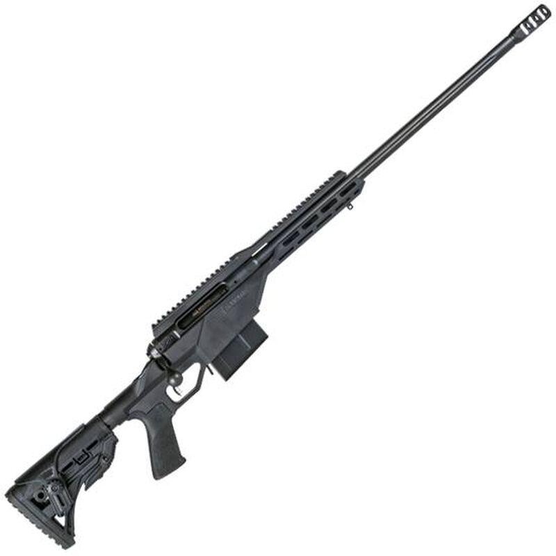 "Savage 10/110 BA Stealth .338 Lapua Mag Bolt-Action Rifle, 5 Rounds, 24"" Barrel, Matte Black"