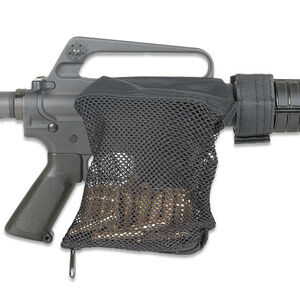 Leapers UTG AR-15 Deluxe Brass Catcher Mesh Bag Black PVC-SHL16