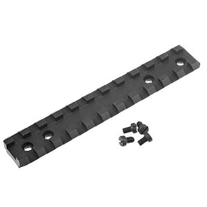 Ruger 10/22 and .22 Charger Pistol Picatinny Scope Base Rail Matte Black Finish