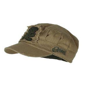 "Voodoo Tactical ""Ranger Roll"" Tactical Cap, Coyote"