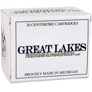 Great Lakes .500 S&W Mag 330 Grain Poly RNFP 20 Round Box