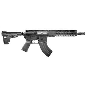 "Diamondback Firearms DB15 AR-15 7.62x39 Semi Auto Pistol 10"" Barrel 30 Rounds Free Float Hand Guard Shockwave Blade Stabilizing Brace Matte Black"