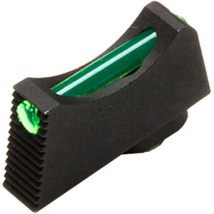 Vickers Elite Snag Free Front Sight for Glock Green Fiber Optic .245""