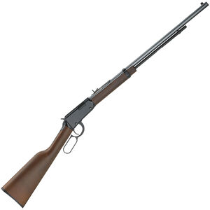 """Henry Repeating Arms Frontier Lever Action Rifle .22 Rimfire 24"""" Barrel 16 Rounds Walnut Stock Blued"""