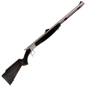 "CVA Optima V2 Break Action Black Powder Rifle .50 Caliber 26"" Stainless Steel Barrel FO Sights Black Synthetic Stock"