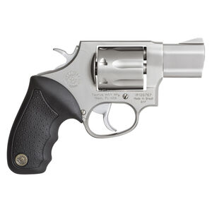 """Taurus 617 Double Action Revolver .357 Magnum 2"""" Barrel 7 Rounds Fixed Front Sight/Fixed Rear Sight Soft Rubber Grip Matte Stainless Steel Finish"""