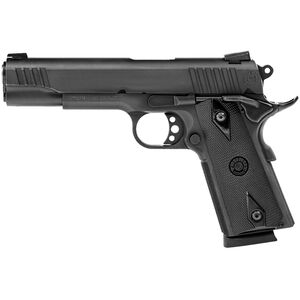"Taurus Full Size 1911 .45 ACP Semi Auto Pistol 5"" Barrel 8 Rounds Novak Sights Matte Black Finish"