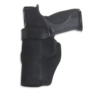 "Galco Wraith Belt Holster Fits 1911 4"" Mid Size Left Hand Leather Black"