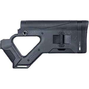HERA USA CQR Stock AR-15 Replacement Fixed Stock Mil-Spec Polymer Black