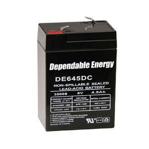 American Hunter Dependable Energy Battery Rechargeable 6 Volts 4.5 Amps DE30052