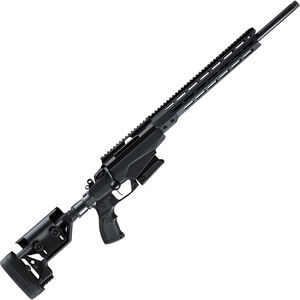 "Tikka T3X TAC A1 .260 Rem Bolt Action Rifle 24"" Threaded Barrel 10 Rounds Adjustable Chassis Stock M-LOK Forend Black"