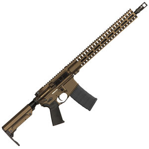 "CMMG Resolute 300 Mk4 9mm Luger AR-15 Semi Auto Rifle 16"" Barrel 30 Rounds Uses ARC Magazines RML15 M-LOK Handguard RipStock Collapsible Stock Midnight Bronze Finish"