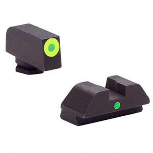AmeriGlo Tritium I-Dot Sight Set For GLOCK 42/43, Steel
