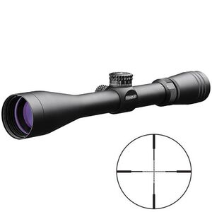 "Redfield Revolution Tac 3-9x40mm Rifle Scope TAC MOA Reticle 1"" Tube 1/4 MOA Adjustment Black Waterproof, Fog proof, Shockproof Matte Black 118348"