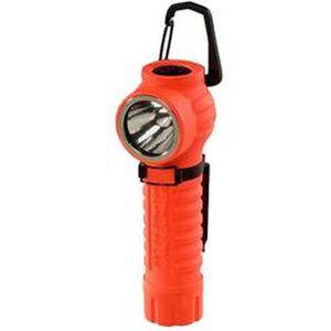 Streamlight PolyTac 90 Degree C4 LED Flashlight 170 Lumen 3 Function 2x CR123A Battery Click Switch Polymer Body Orange 88834