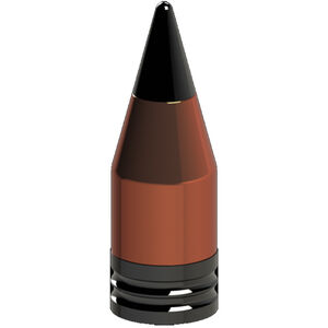 CVA .50 Caliber 330 Grain PowerBelt AeroTip Projectile Copper Plated 15 Pack