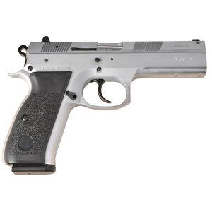 """TriStar P120 Semi Auto Handgun 9mm Luger 4.7"""" Barrel 17 Rounds Double/Single Action Chrome 85090"""