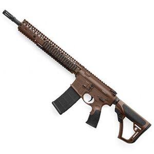 """Daniel Defense M4A1 AR-15 Semi Auto Rifle 5.56 NATO 14.5"""" Barrel 30 Rounds RIS II Handguard Collapsible Stock Mil Spec+ Cerakote 02-088-15126-011"""