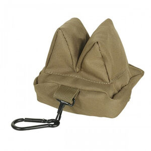"""Voodoo Tactical Sniper Bean Bag Size 5""""L x 4""""W x 4""""H Coyote"""