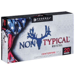 Federal Non-Typical 6.5 Creedmoor Ammunition 20 Rounds 140 Grain Soft Point 2390fps