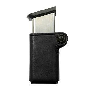 Galco SMC Single Magazine Most .45 ACP Single Stack Magazines Belt Snap Loop Leather Black