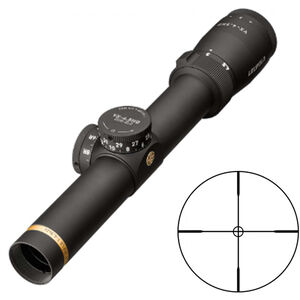 Leupold VX-4.5HD Service Rifle Riflescope Fiber Optic FireDot Bull-Ring Reticle 30mm Tube Second Focal Plane Matte Black Finish