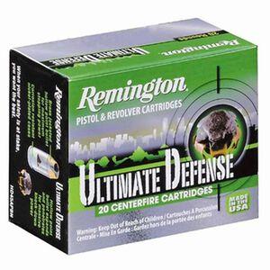 Remington Ultimate Defense .40 Smith & Wesson Ammunition 20 Rounds, BJHP, 180 Grains