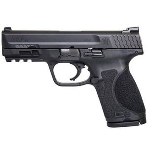 "S&W M&P40 M2.0 4"" Compact Semi Auto Pistol .40 S&W 13 Rounds No Thumb Safety Matte Black"