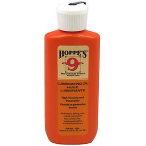 Hoppe's #9 Lubricating Oil 2.25 Ounce Squeeze Bottle 1003