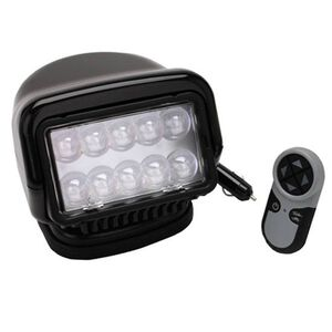 Golight Stryker LED Searchlight Wireless Remote Magnetic Base Black 30515