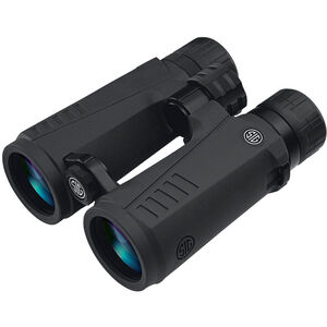 SIG Sauer Zulu5 Open Bridge 12x50 Full Size Binoculars Multi-Coated BAK4 Prism System Multi-Position Twist Eyecups IPX-7 Waterproof/Fogproof Non-Slip Grip Coating Rubber Armor Graphite/Black Finish