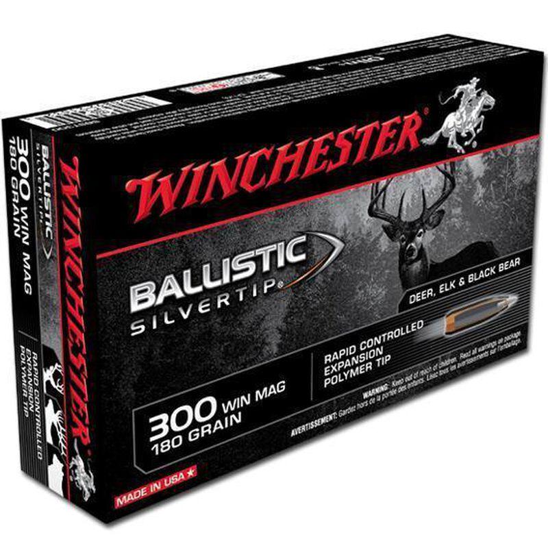 Winchester .300 Winchester Magnum Ammunition 20 Rounds Silvertip PT 180 Grains