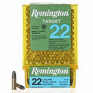 Remington Target .22 Long Rifle Ammunition 40 Grain LRN 1150 fps