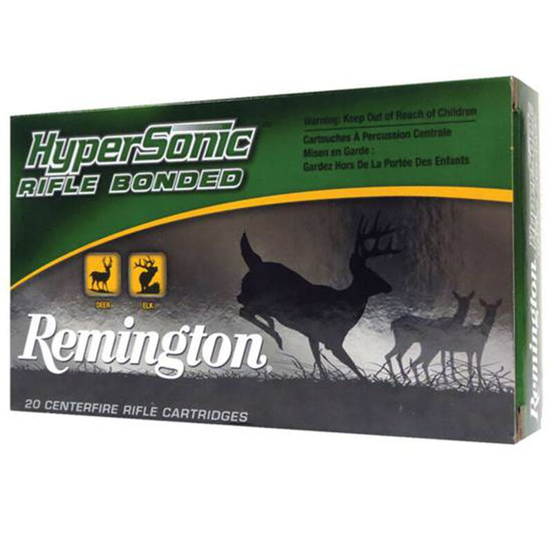 Remington HyperSonic Bonded .223 Rem Ammunition 62 Grain Core-Lokt Ultra Bonded, PSP 3262