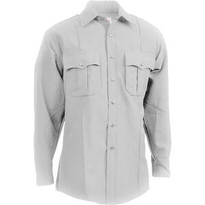 Elbeco Men's TexTrop2 Long Sleeve Shirt, White, 18x37