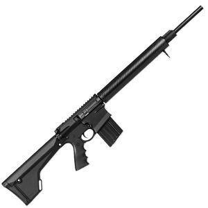"DPMS GII Hunter AR Style Semi Auto Rifle .308 Winchester 20"" Barrel 4 Round Magazine Carbon Fiber Free Float Hand Guard Magpul MOE Rifle Stock Matte Black Finish"