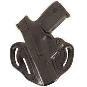 DeSantis Speed Scabbard Belt Holster For GLOCK 19/23/36 Left Hand Leather Black 002BBB6Z0