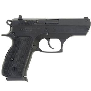 """TriStar T100 Semi Automatic Pistol 9mm Luger 3.7"""" Barrel 15 Round Capacity Polymer Grips Blued Finish 85109"""