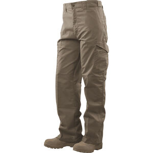 Tru-Spec Tactical Boot Cut Trousers 65/35 Polyester/Cotton Rip-Stop 28x34 Khaki